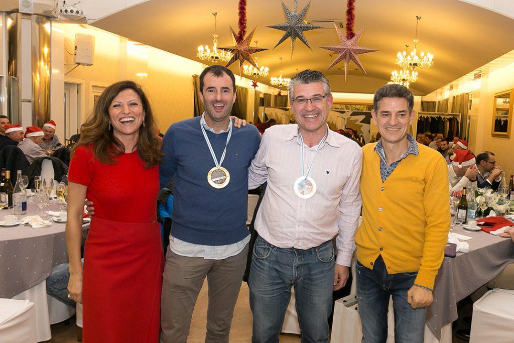 Martin y Nando, ganadores del torneo de pádel de Espina y Delfín.