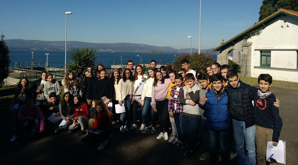 Alumnos del IES Castro Alobre visita las instalaciones hidráulicas del Concello de Vilagarcía gestionadas por Espina y Delfín